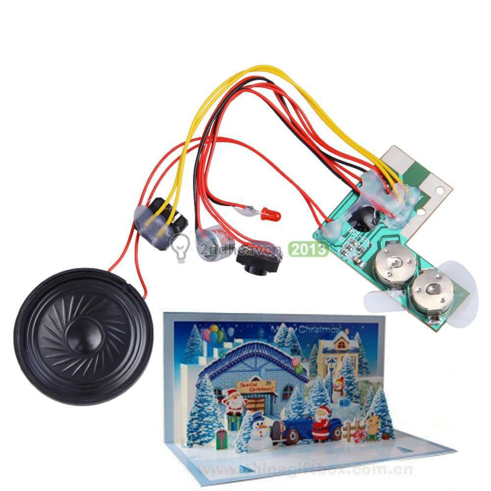 10s Greeting Card Recordable Sound Voice Module Chip Music