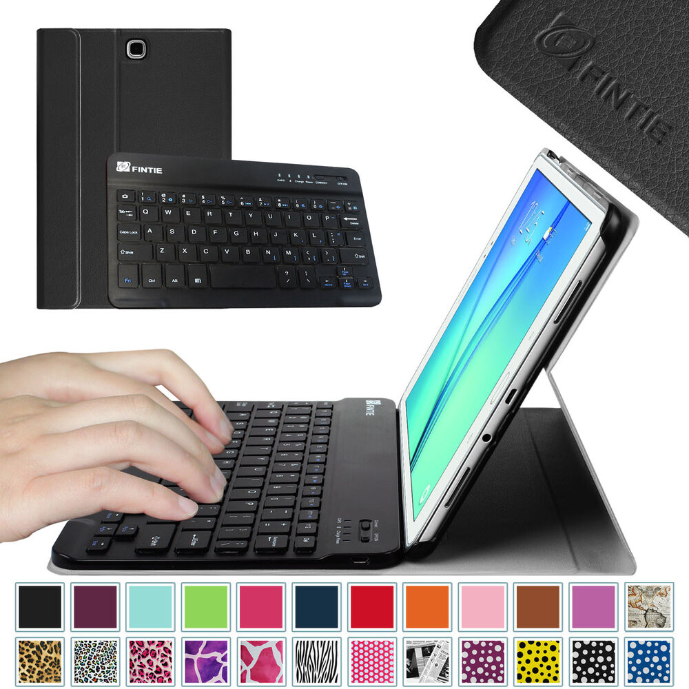 slim bluetooth keyboard leather cover case for samsung. Black Bedroom Furniture Sets. Home Design Ideas