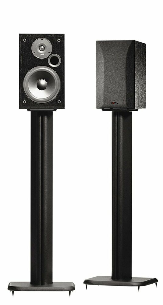 Sanus Systems Bf 31b Wood Speaker Stands Foundations Basic