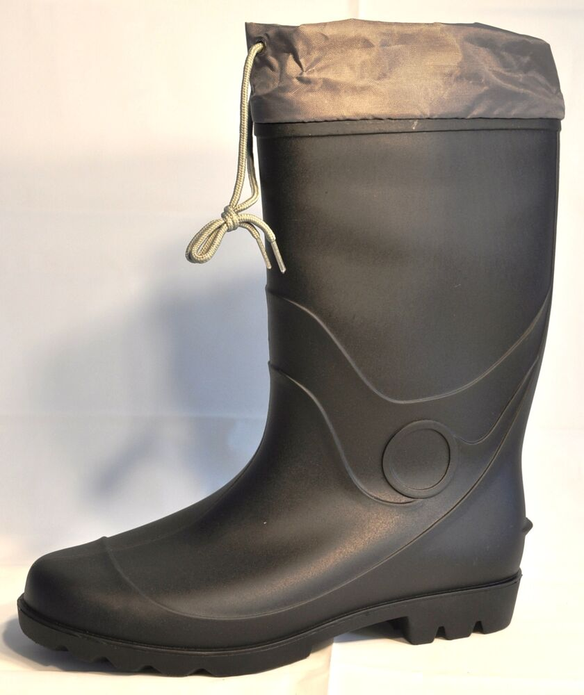 Men S Rain Mud Boots 131 2 Inch Easy Usa Rain Mud Boots