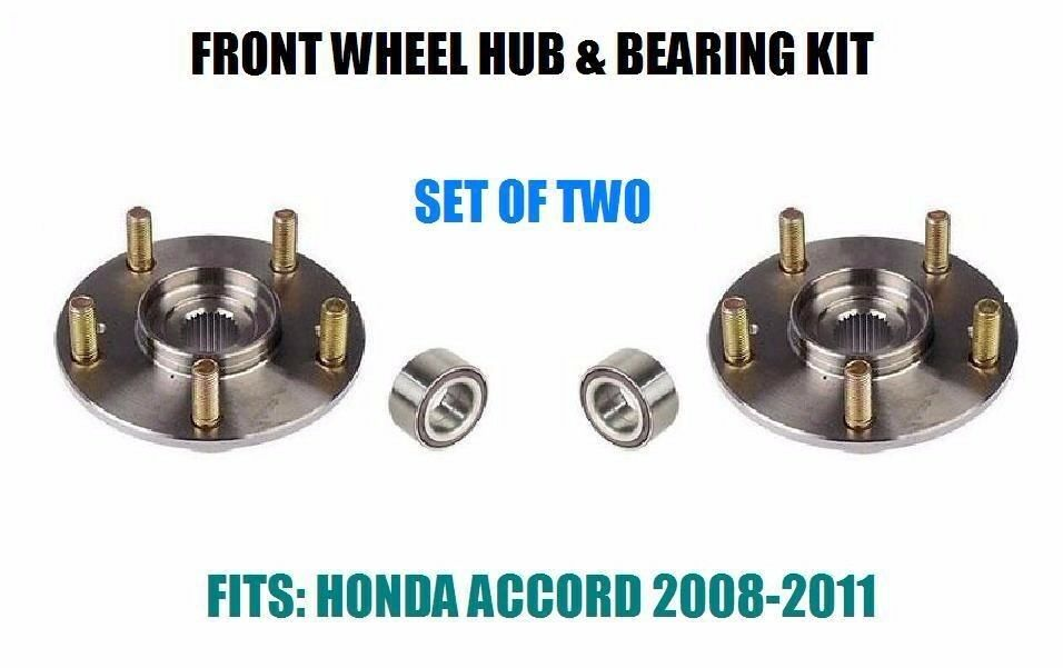 Fits 2008 2011 Honda Accord Front Wheel Hub Amp Bearing
