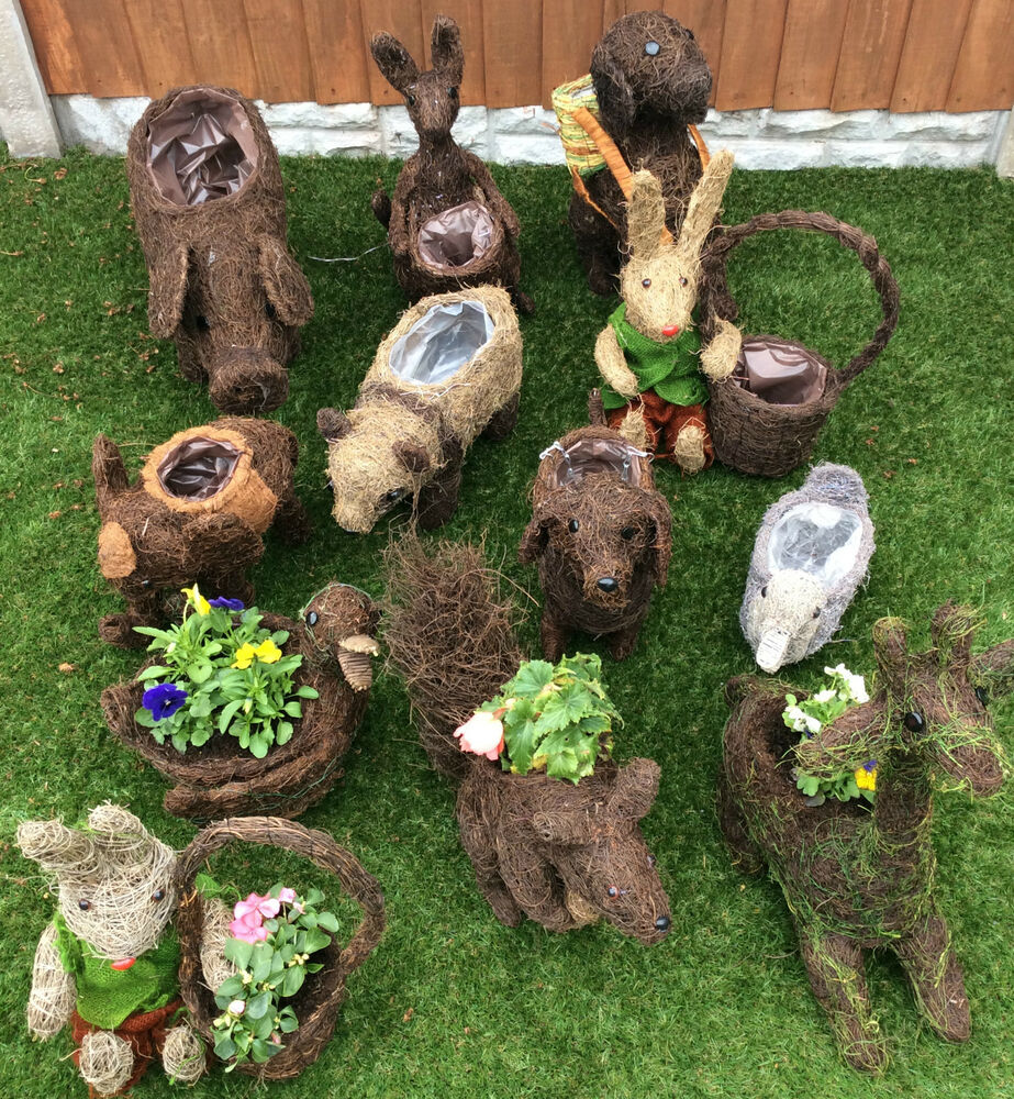 Garden Planters Various Animal And Other Designs Now 25