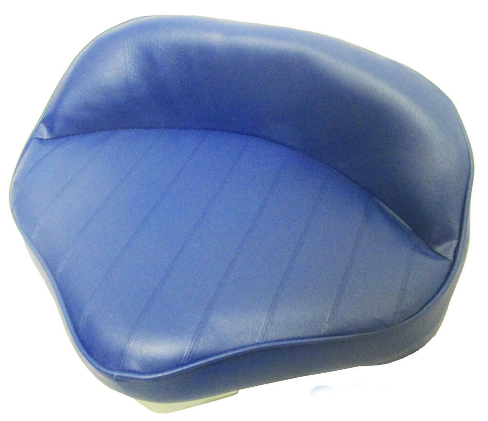 Boat Seat Stool : Fishing butt boat seat new larger size blue casting bar