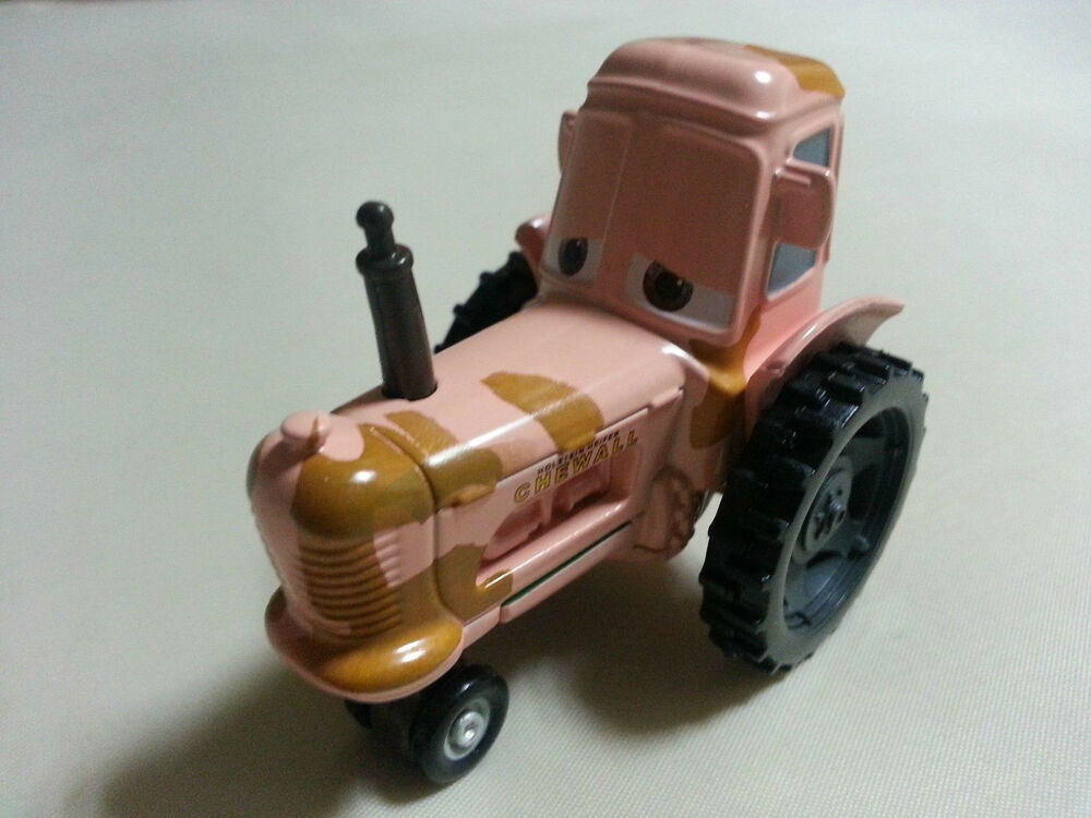Tractor From Cars : Mattel disney pixar cars tractor chewall metal toy car