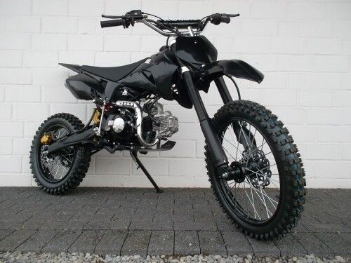 dirtbike pitbike 125ccm crossbike kinder cross motocross. Black Bedroom Furniture Sets. Home Design Ideas