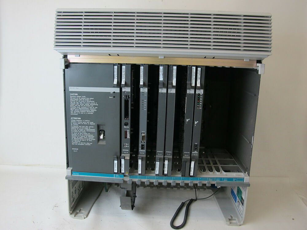 Nortel ntak11bd meridian cabinet with cards ebay for Meridian cabinets