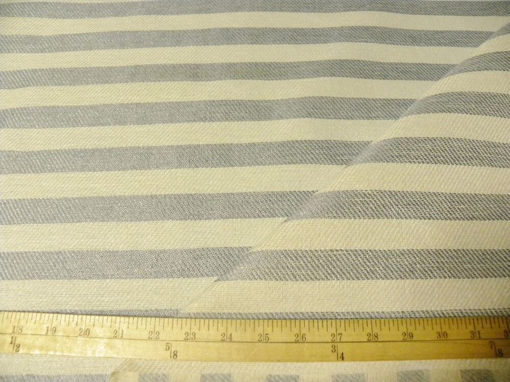 10 Yards In Outdoor Patio Rv Boat Upholstery Fabric Blue White Stripe Ebay