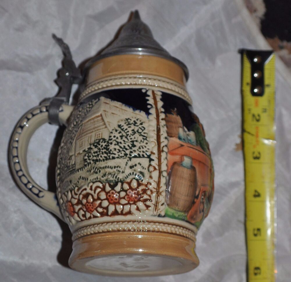 Vintage West Germany Beer Stein | Collectors Weekly |Vintage West Germany Beer Steins