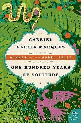 GABRIEL MARQUEZ OF YEARS GARCIA HUNDRED SOLITUDE ONE