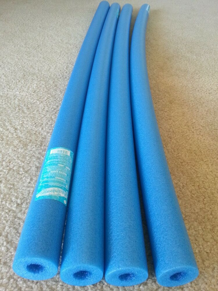 Lot 4 x blue pool noodle swimming noodle water foam craft for How to make fishing noodles