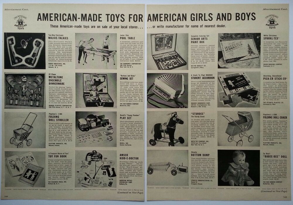 Toys For Boys Magazine : Quot american made toys for girls boys