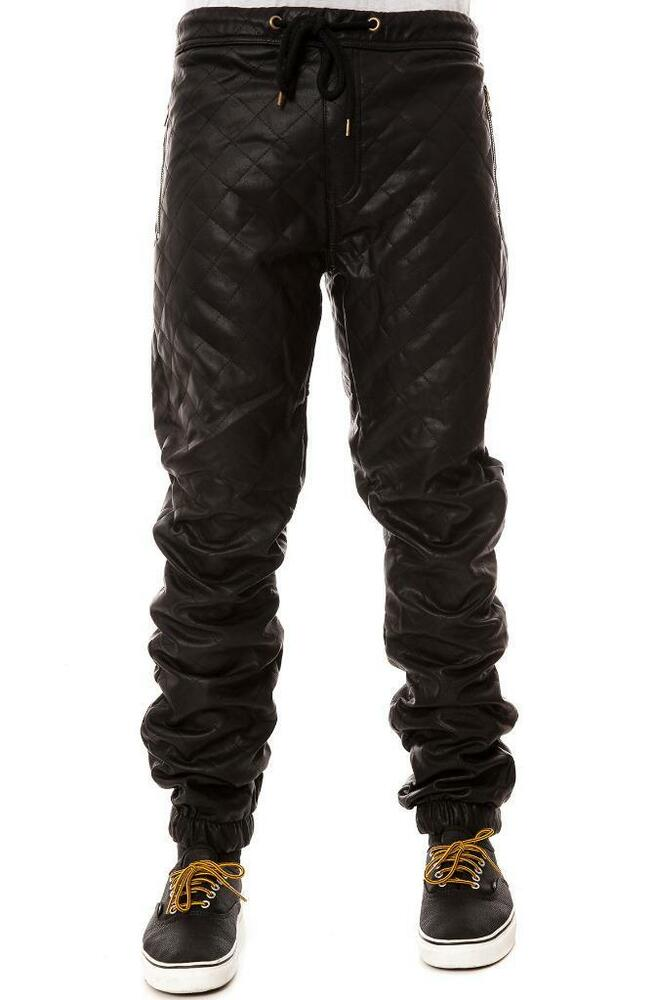 Leather Jogger Pants Men - 4 results from brands, products like Tailored Recreation Premium Fleece Faux Leather Ribbed Knee Moto Joggers at HauteLook - Mens Casual Pants - Mens Chinos - Mens Pants, Tailored Recreation Premium Fleece Faux Leather Ribbed Knee Moto Joggers at HauteLook - Mens Casual Pants - Mens Chinos - Mens Pants, Tailored Recreation Premium Fleece Faux Leather .