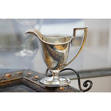 Antique Sterling Silver Creamer by Watson