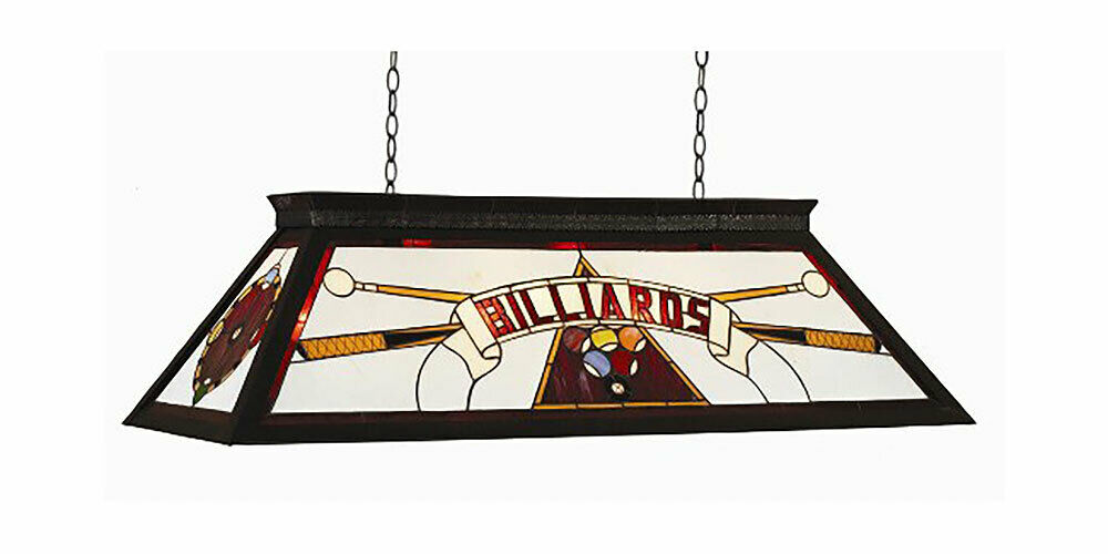 44 Quot Billiard Pool Table Light With Kd Frame Red Ebay