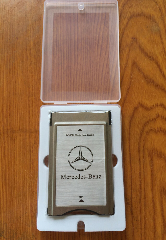 Pcmcia to sd pc card adapter supoort sdhc for mercedes for Pcmcia mercedes benz