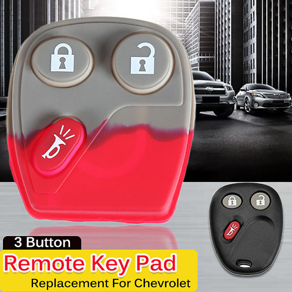 REMOTE KEY KEYLESS FOB REPAIR REPLACEMENT RUBBER BUTTON ...
