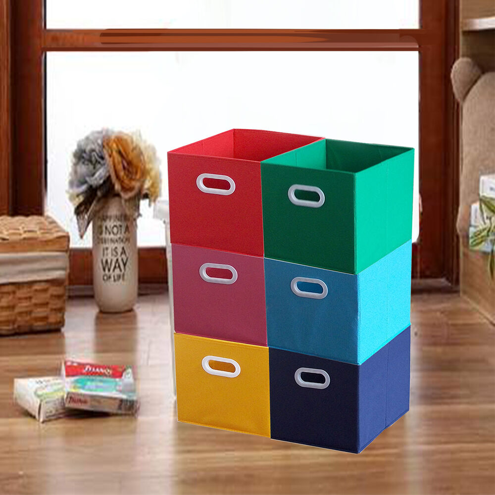 Storage Box Closet Toy Storage Box Container Organizer Fabric Cube Bins Baskets Ebay