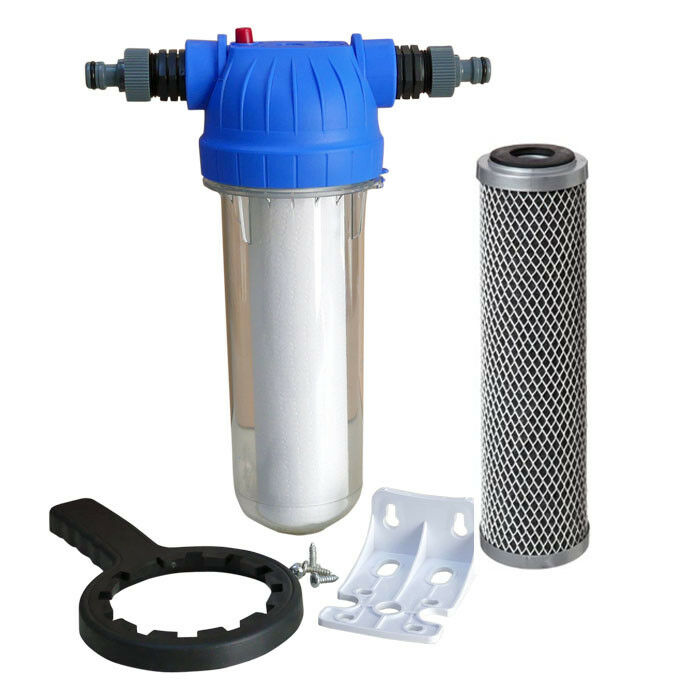 Koi pond water filter for fish chlorine dechlorinator for Pond water filter