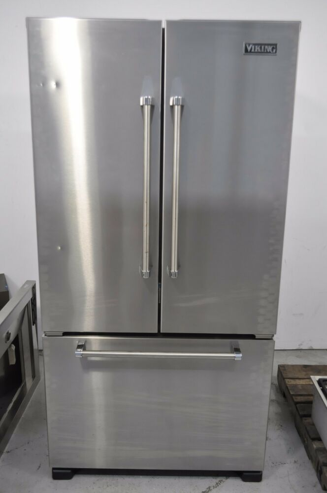 """Viking VCFF236SS 21.8 cuft 36"""" Stainless Counter-Depth ..."""