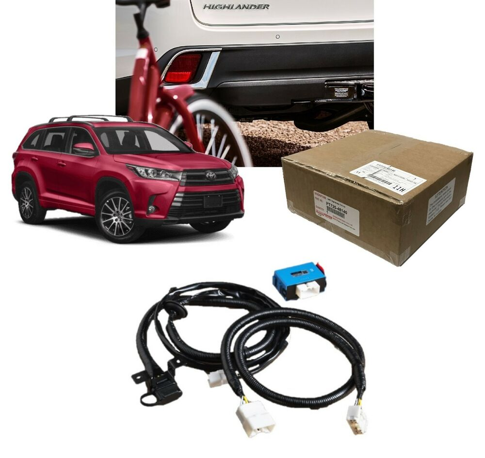 Highlander towing wire harness toyota