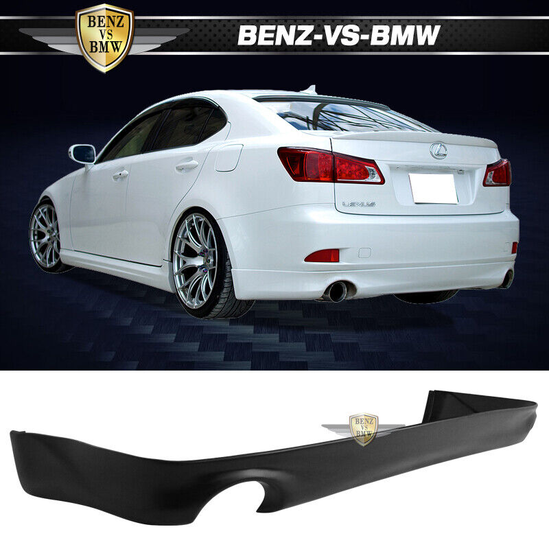 Lexus Is250 Is350 06 12 Oe Style Poly Urethane Rear Bumper