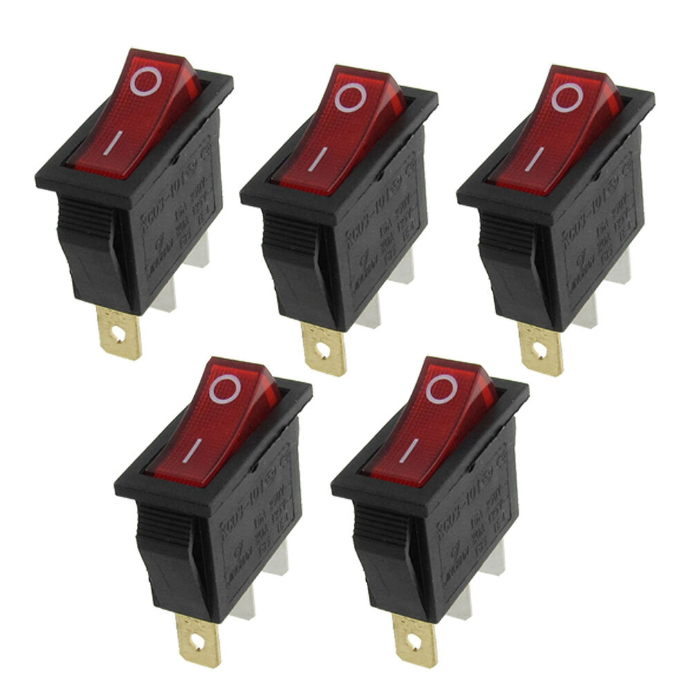 25 Amp Spst Illuminated Rocker Switch Wiring Modern Design Of Round Ac 16a 250v 20a 125v Boat X Dual Diagram Lighted