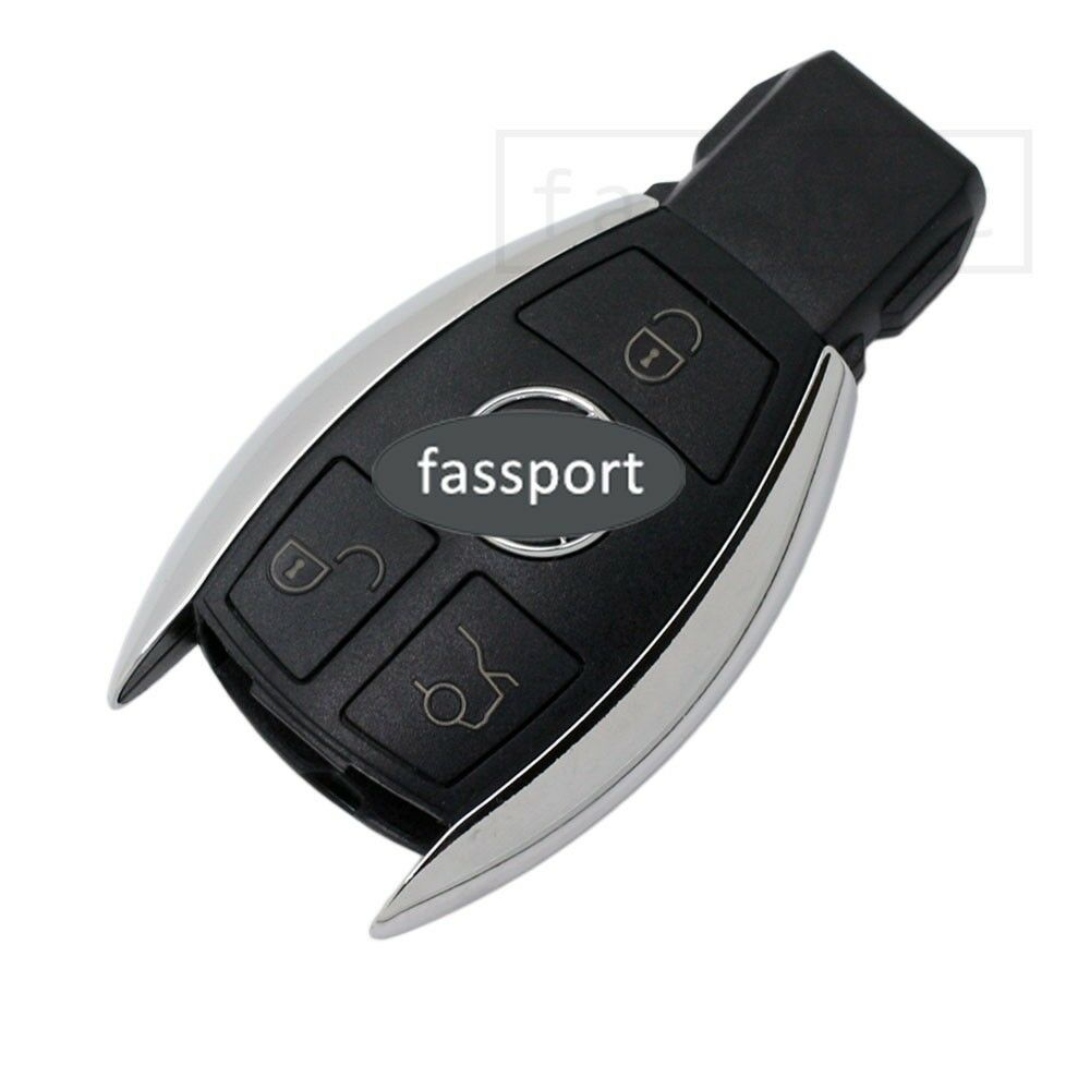 Smart key shell fit for replace mercedes benz remote case for Mercedes benz smart key replacement