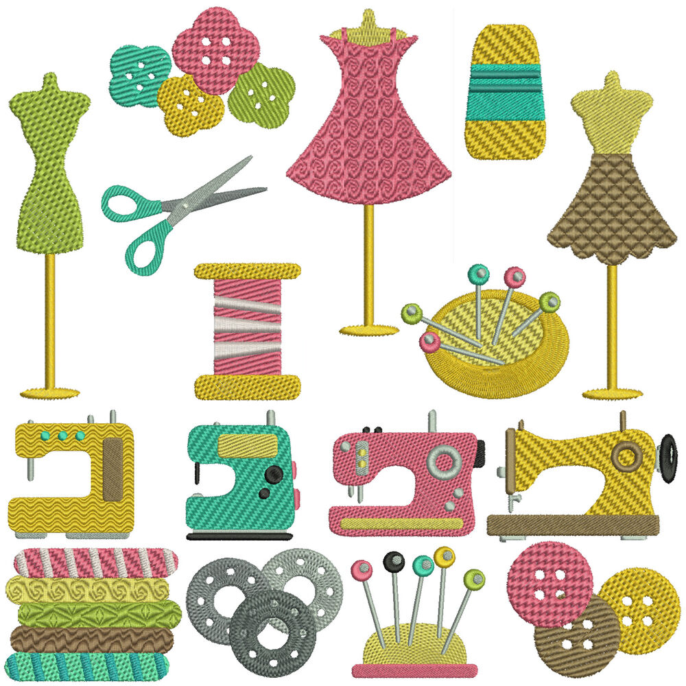 Sewing machine embroidery patterns designs ebay