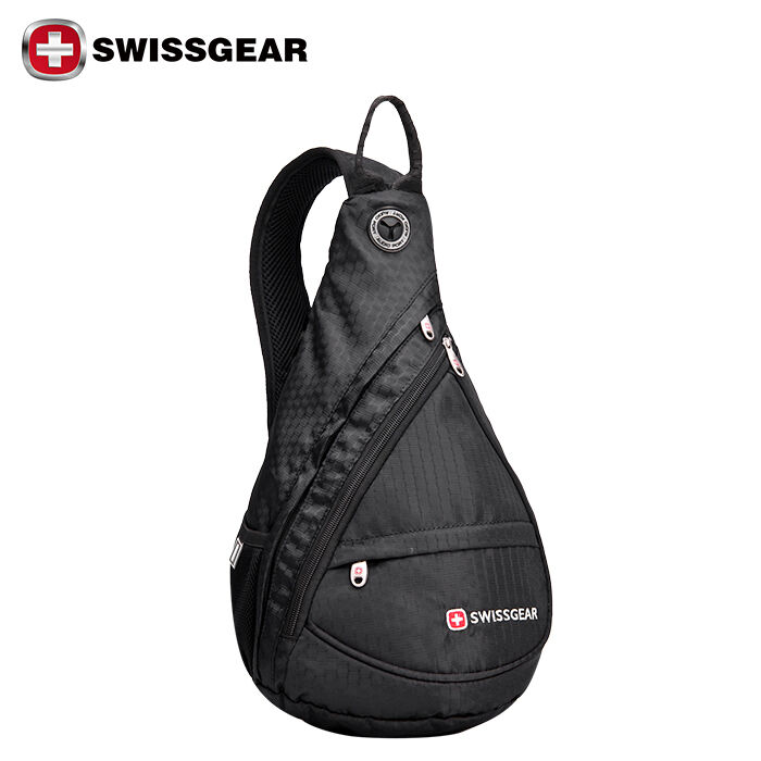 Swissgear Cross Body Sling Bag Riding Chest Pouch Shoulder Hiking Backpack 1 Ebay
