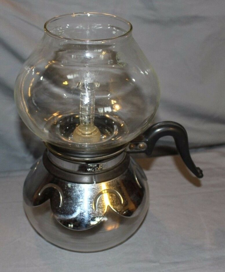 Vacuum Coffee Maker Glass Filter : Vintage Silex Glass Vacuume Coffee Pot eBay