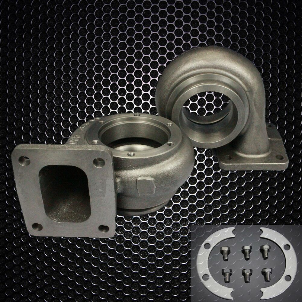 Precision 5558 Turbo Chargers Parts: T4 .68A/R P Trim V-band Turbine Housing Exausting Housing