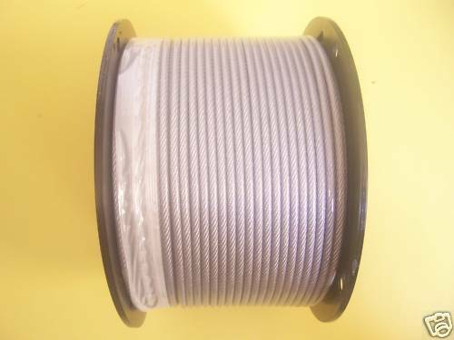Vinyl Coated Galvanized Aircraft Cable 3 16 Quot 1 4 Quot 7x19