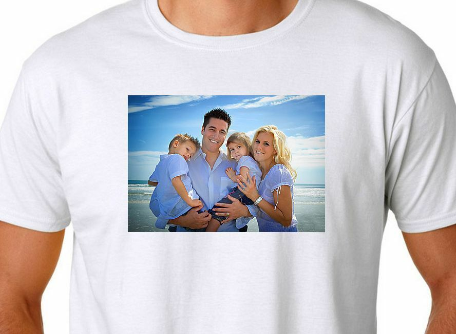 Personalized Custom Full Color T Shirt Create Design Your Own Small Thru 4xl Ebay