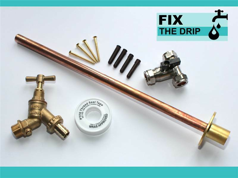how to fix outdoor tap
