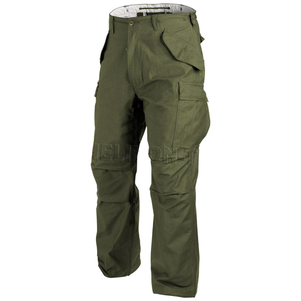 HELIKON GENUINE US M65 COMBAT CARGO TROUSERS MENS ARMY ...