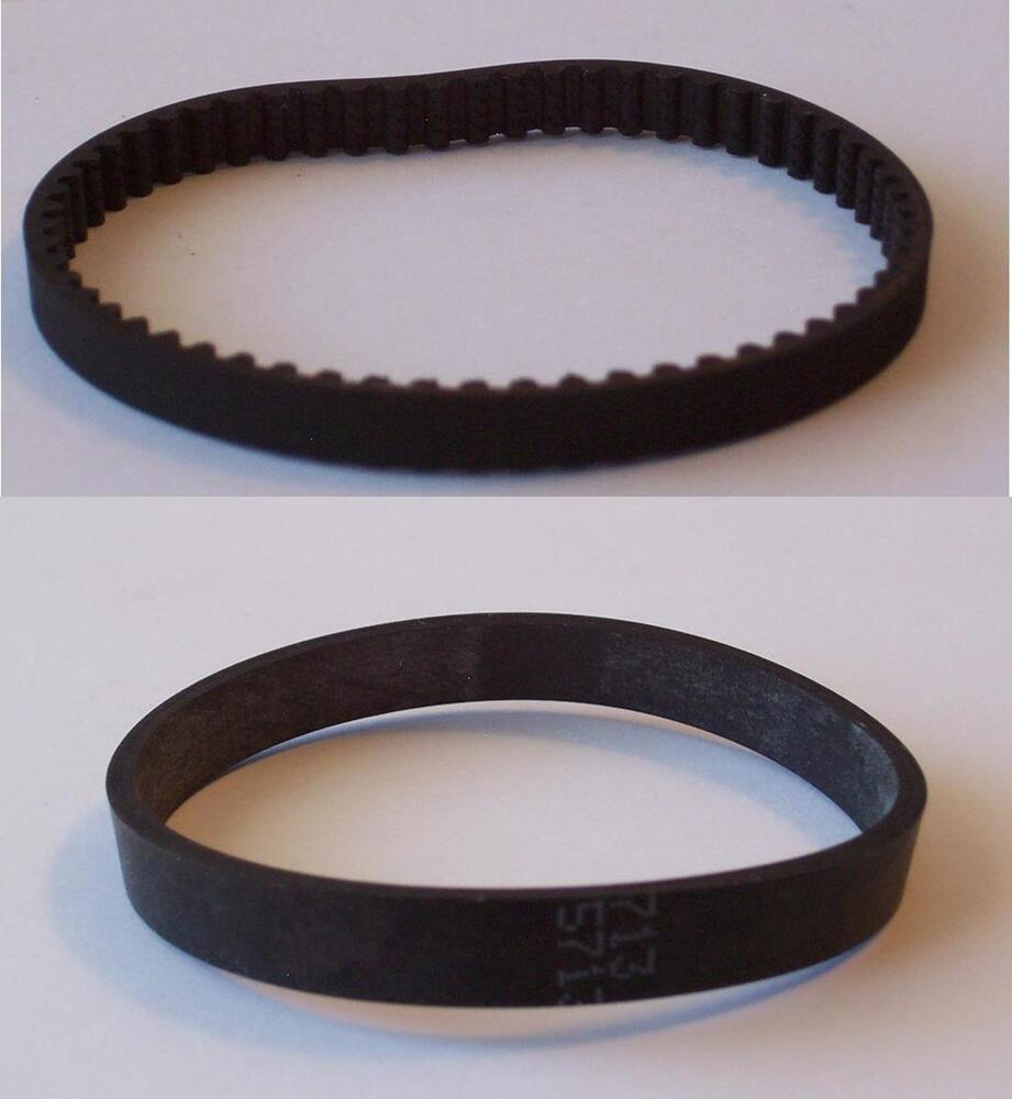 Bissell Proheat Carpet Cleaner Belts Geared 0100621 Flat