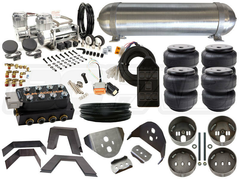 Air Suspension Kit - 88-98 Chevy C/K 1500 3/8 in Manifold ...