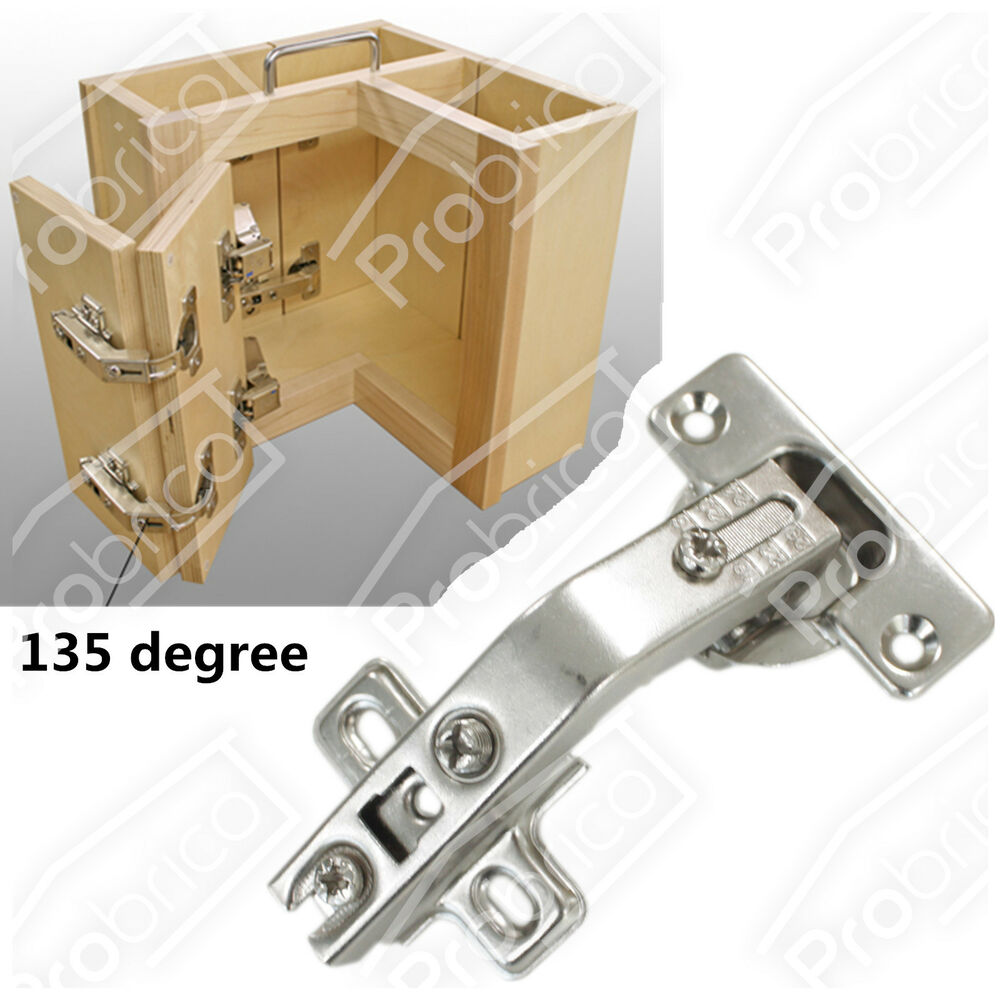 concealed corner folded kitchen cabinet door hinges