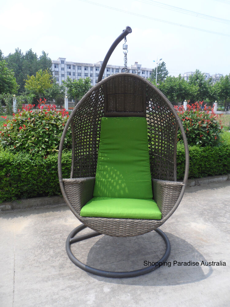 New Quality Hanging Swing Egg Chair Rattan In Outdoor Pod Basket
