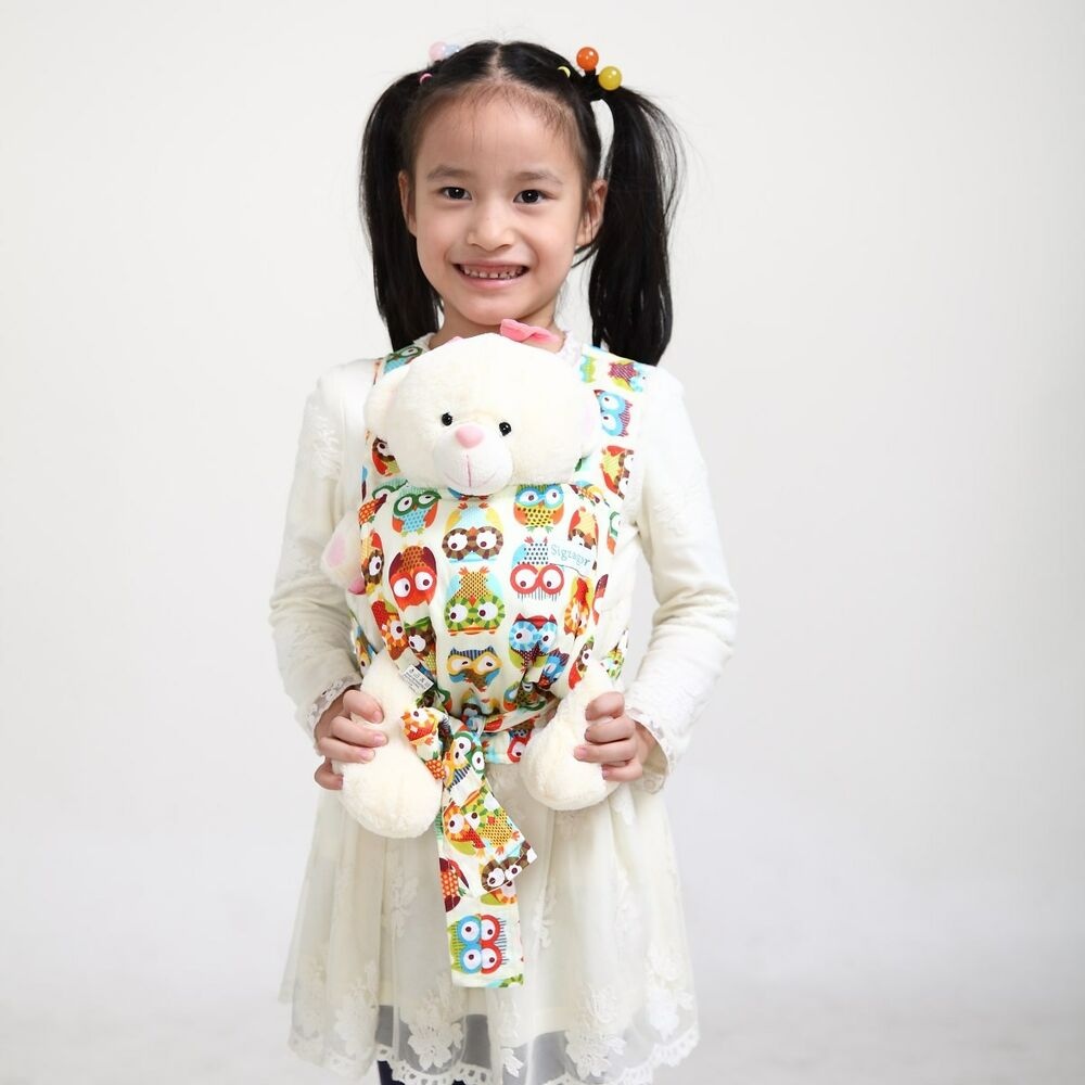 New Owl Baby Doll Carrier Mei Tai Sling Toy For Kids