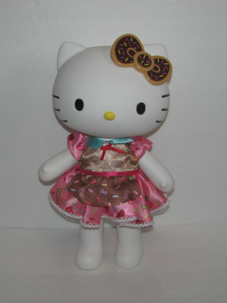 Toy Hello Kitty Watch : Blip sanrio hello kitty quot doll toy hard plastic