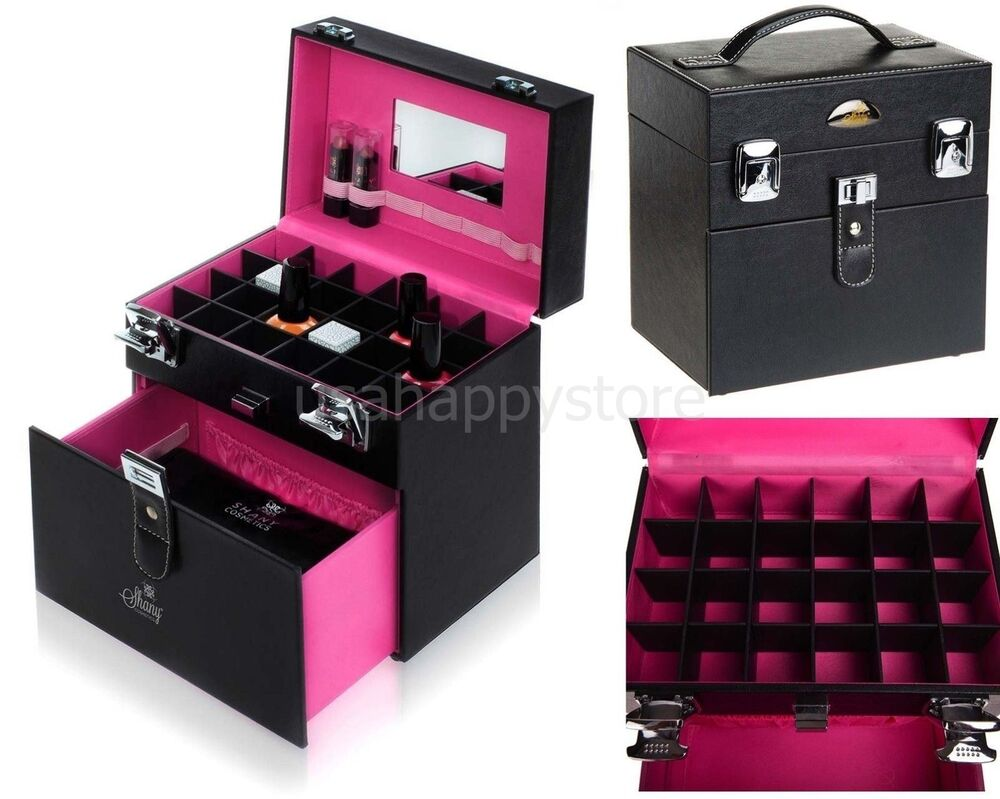 nail polish travel case manicure cosmetics makeup. Black Bedroom Furniture Sets. Home Design Ideas