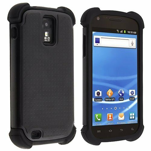Hybrid Armor Hard + Silicone Case Cover Samsung Galaxy S2 ...