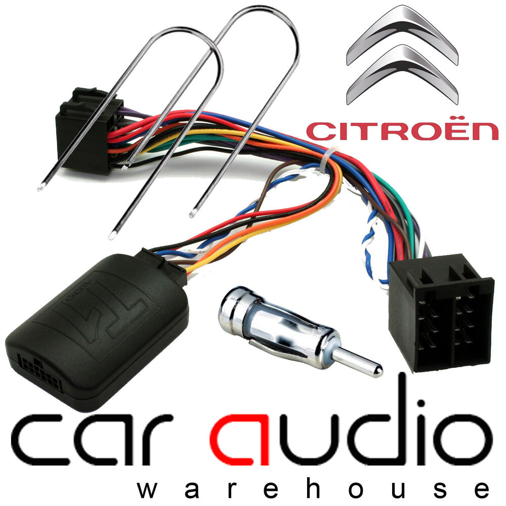Citroen Rd3 Xsara Picasso C2 C3 C5 C8 Berlingo Steering Wheel Interface  U0026 Aerial