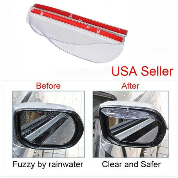 how to keep side mirrors clear in rain