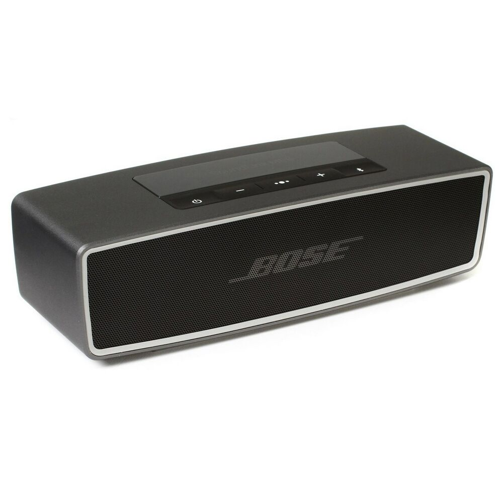 Bose SoundLink Mini II Bluetooth Wireless Speaker - Carbon - NEW ...