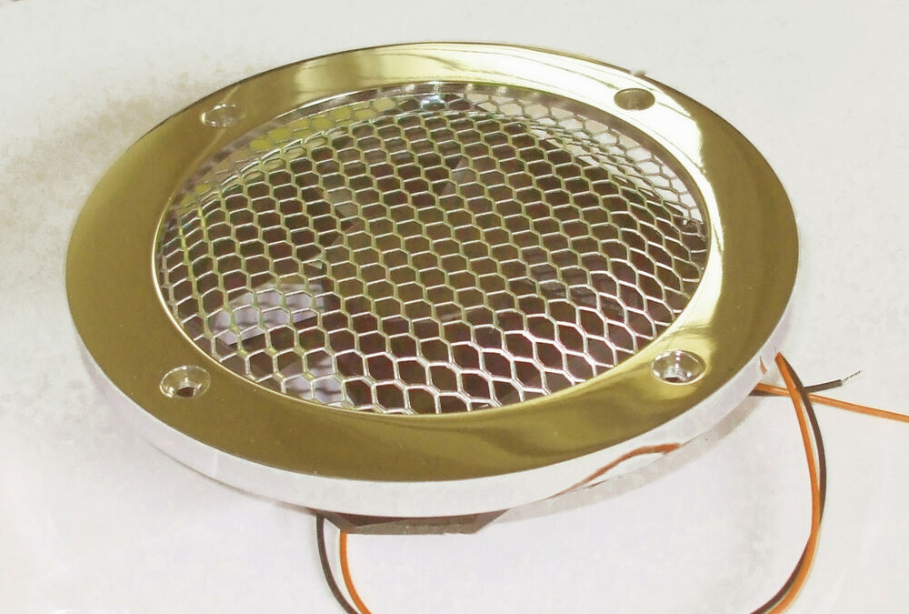 Bathroom galley 12v extract fan on heavy chrome or brass for Zone 0 bathroom extractor fan