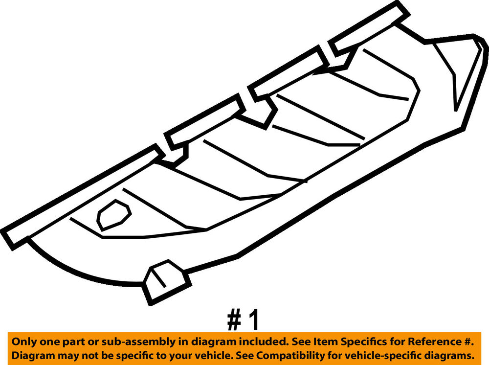 Ford Oem 08 10 F 250 Super Duty Exhaust Manifold 7c3z9430e