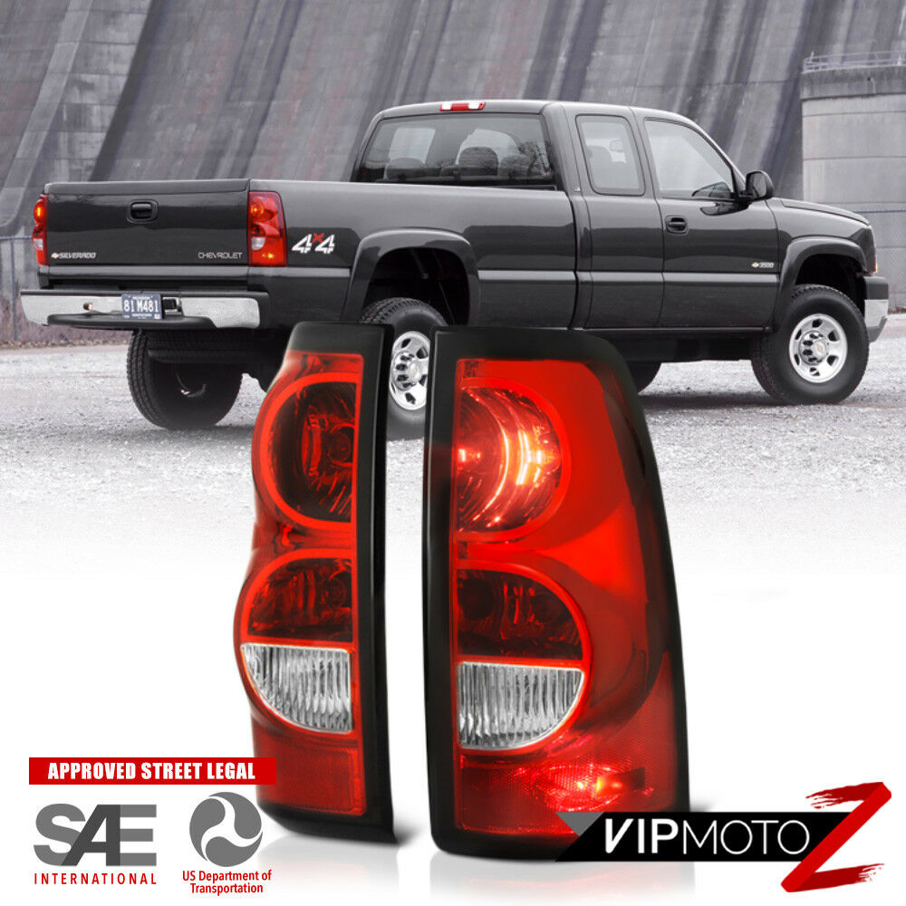 03 06 chevy silverado factory style red brake signal lamp. Black Bedroom Furniture Sets. Home Design Ideas