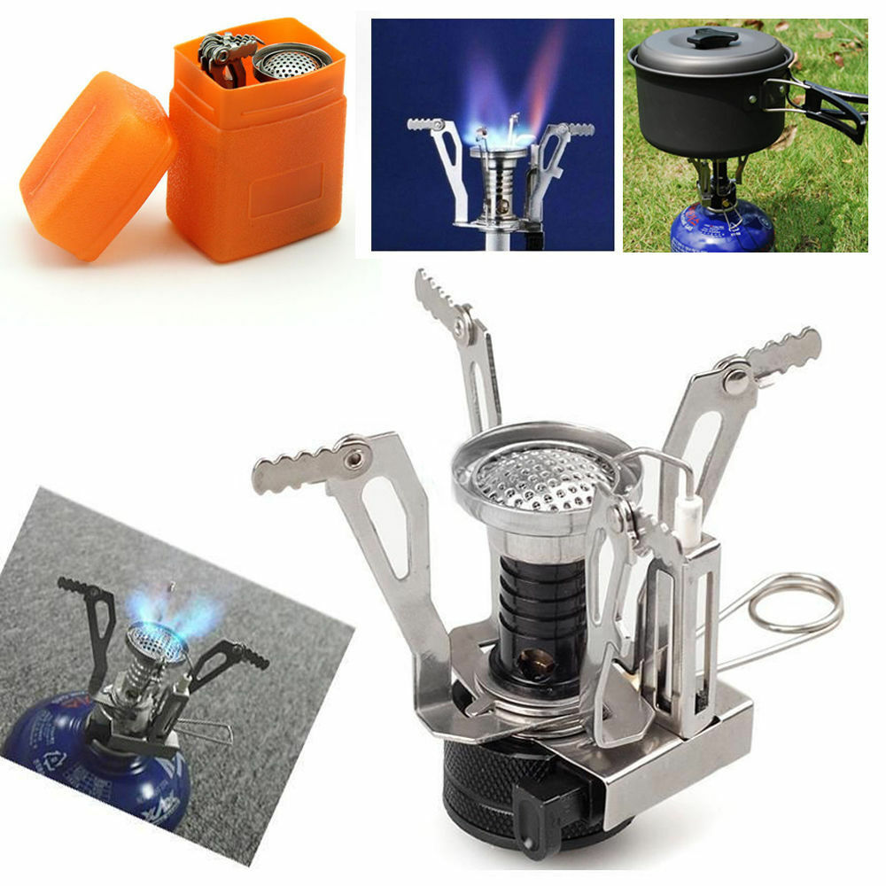 Lightweight Backpacking Stoves: Ultralight Backpacking Gas Butane Propane Canister Outdoor